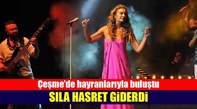Sıla'dan Çeşme'de bayram konseri