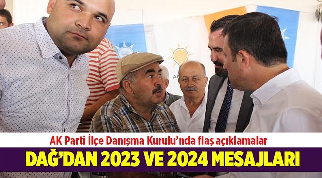 AK Partili Dağ: AK Parti 2023 ve 2024 seçimlerinde de başarılı olacaktır