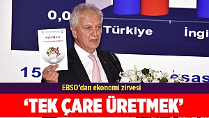 EBSO'dan ekonomi zirvesi