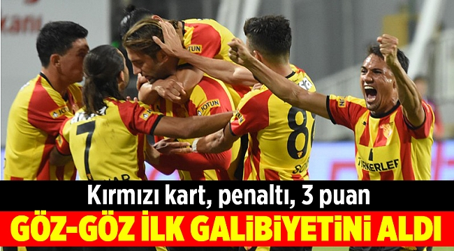 Göztepe, Konyaspor'u geçti; 3 puanla tanıştı