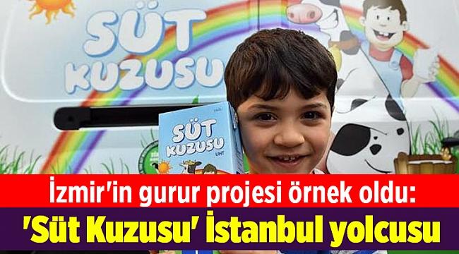 İzmir'in gurur projesi örnek oldu: 'Süt Kuzusu' İstanbul yolcusu