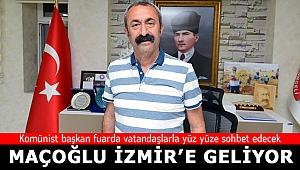 Kominist başkan İzmir'e geliyor