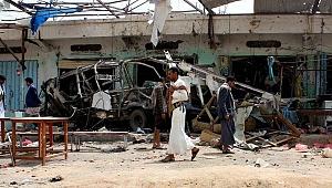 Suudilerden hastaneye saldırı: 50 ölü