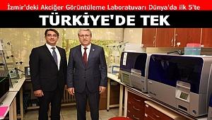 Akciğer Görüntüleme Laboratuvarı Dünya'da ilk 5'te Türkiye'de tek