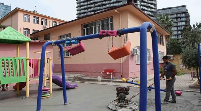 Bayraklı Belediyesi 50 okula bakım ve onarım yapıyor