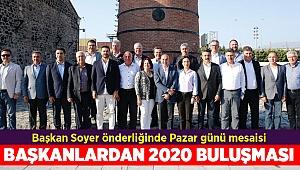 CHP'li başkanlardan Pazar günü İzmir mesaisi!