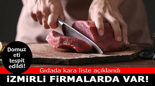 Gıdada kara liste açıklandı: