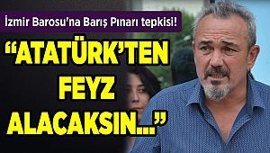 İzmir Barosu'na Barış Pınarı tepkisi!