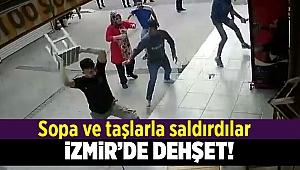İzmir'de aile işletmesine saldırı