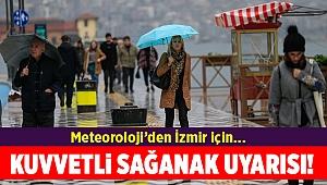 İzmir ve Ege için yağış uyarısı
