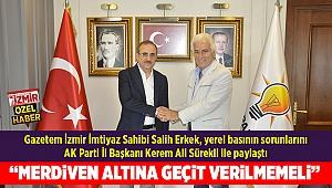 """""""MERDİVEN ALTINA GEÇİT VERİLMEMELİ"""""""