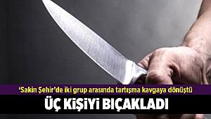 Seferihisar'da bıçaklı kavga: 3 yaralı