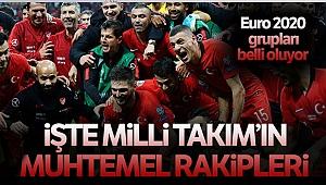 A Milli Futbol Takımımızın Euro 2020 rakipleri belli oluyor!