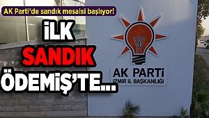 AK Parti'de sandık mesaisi başlıyor!