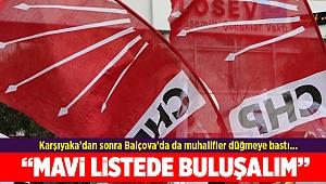 Balçova'da da muhalifler düğmeye bastı...