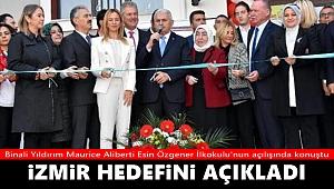 Binali Yıldırım: İzmir'de hedef, tekli eğitimi yüzde 100'e çıkarmak