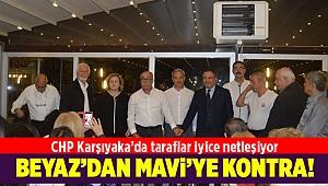 CHP Karşıyaka'da taraflar iyice netleşiyor! Beyaz'dan Mavi'ye kontra