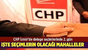 CHP İzmir'de delege seçimlerinde 2. gün