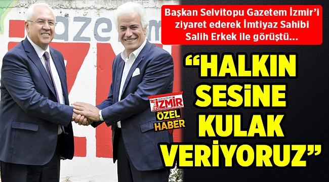"""""""HALKIN SESİ'NE KULAK VERİYORUZ"""""""