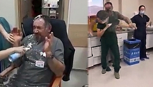 Hastane çalışanlarından uygunsuz eğlence