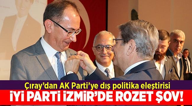 İYİ Partili Çıray: AK Parti'nin yanlış dış siyaseti Türkiye'nin milli siyaseti değildir