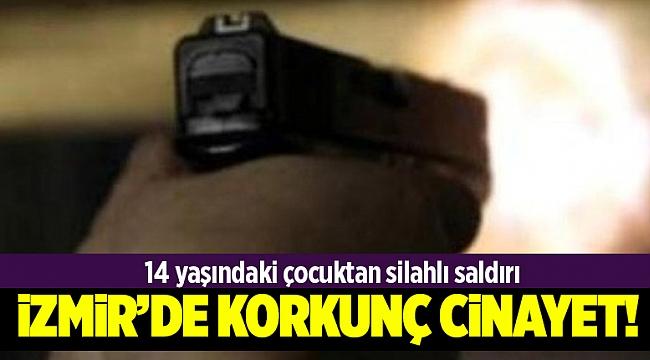 İzmir'de dehşet!:14 yaşındaki çocuk cinayet işledi!