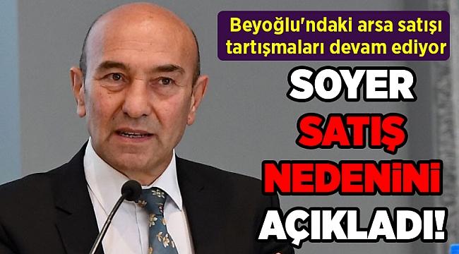 İzmir'in Beyoğlu'ndaki arsa satışı tartışmaları devam ediyor