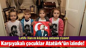 Karşıyakalı çocuklar Atatürk'ün izinde!