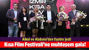 Kısa Film Festivali'ne muhteşem gala!