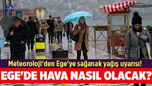 Meteoroloji'den Ege'ye sağanak yağış uyarısı! 1 Kasım İzmir, Denizli, Manisa, Muğla'da hava nasıl olacak?