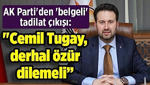 AK Parti'den 'belgeli' tadilat çıkışı: