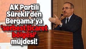 AK Partili Sürekli'den Bergama'ya 'serbest ticaret bölgesi' müjdesi!