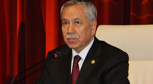 Bülent Arınç'tan Ahmet Davutoğlu öncülüğünde kurulan yeni partiye ilişkin açıklama