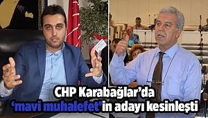 CHP Karabağlar'da 'mavi muhalefet'in adayı kesinleşti