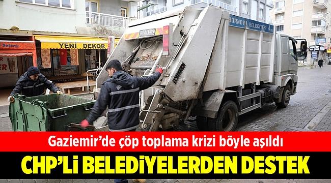 Gaziemir'de çöp toplama krizi CHP'li belediyelerin iş birliğiyle aşıldı