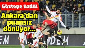 Göztepe, Ankara'da Gençlerbirliği'ne kaybetti...