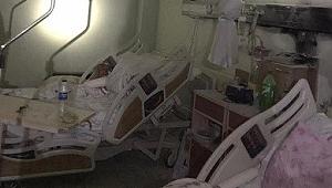Hastanede korkutan yangın: Bazı hastalar tahliye edildi