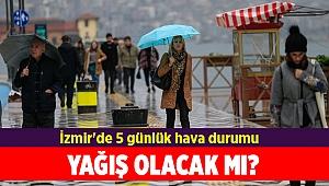 İzmir'de 5 günlük hava durumu(16-20 Aralık 2019)