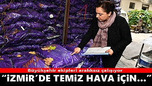 İzmir'de temiz hava için denetimler sürüyor