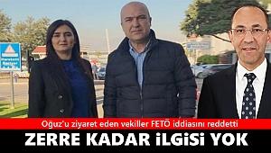 Oğuz'u cezaevinde ziyaret eden İzmirli vekiller FETÖ iddialarını reddetti