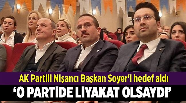 AK Partili Nişancı Başkan Soyer'i hedef aldı