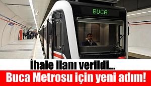 Buca Metrosu için ihale ilanı verildi