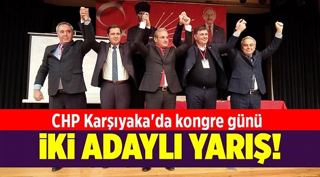 CHP Karşıyaka'da kongre günü