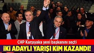 CHP Karşıyaka yeni başkanını seçti