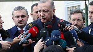 Erdoğan'dan İmamoğlu'nun mektubuyla ilgili açıklama