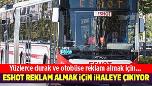 ESHOT otobüslere reklam almak için ihaleye çıkıyor