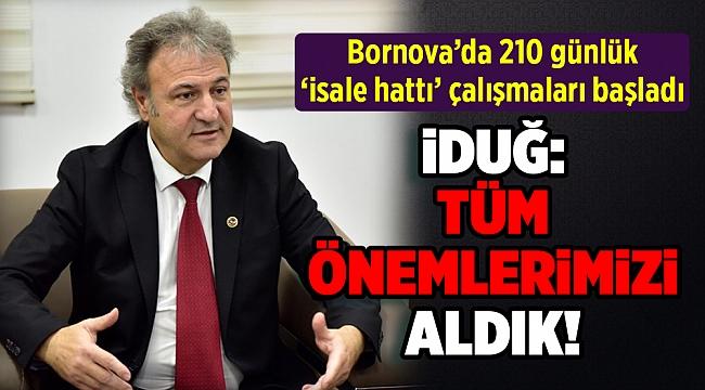 Gördes Barajı suyunu İzmir'e taşıyacak çalışmalar başladı!