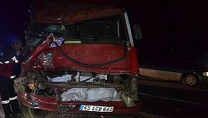 Manisa'daki kazada 1 kişi hayatını kaybetti 2 yaralı var...