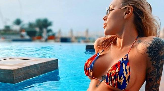 'Süper yenge' Irina Morozyuk'un yatak odası paylaşımları olay oldu