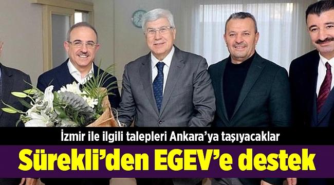 Sürekli'den EGEV'e destek